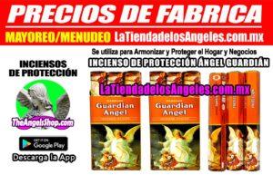 INCIENSO DE PROTECCIÓN ÁNGEL GUARDIÁN - PRECIOS DE FÁBRICA 1F- La Tienda de los Ángeles - Mayoreo y Menudeo CDMX copy