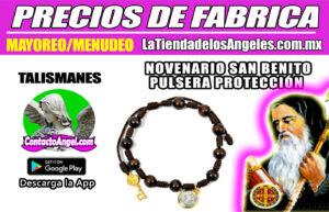Novenario Pulsera San Benito Protección 1F- La Tienda de los Ángeles - Mayoreo CDMX copy