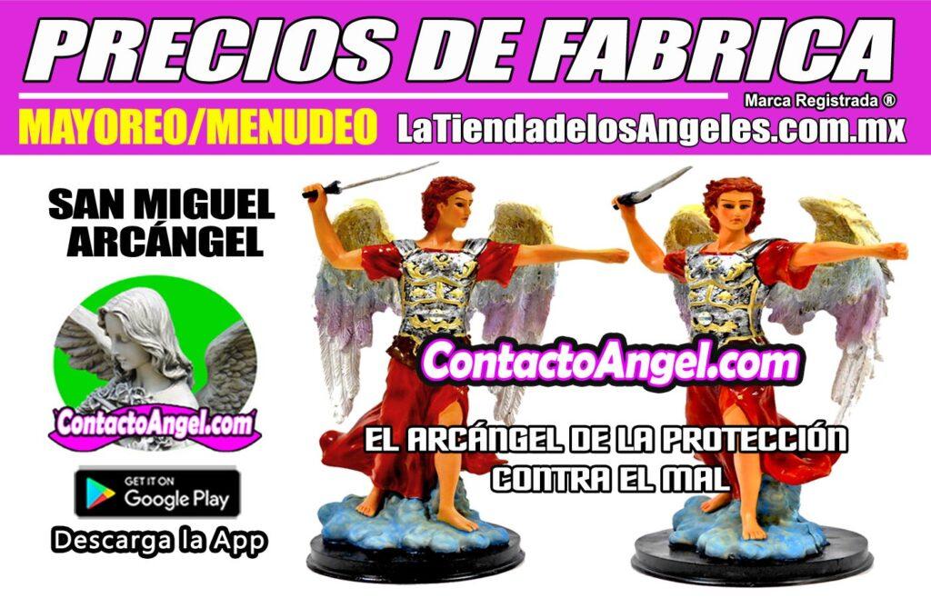 FIGURA ARCÁNGEL MIGUEL 1F - La Tienda de los Ángeles - Mayoreo y Menudeo CDMX copy