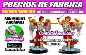 FIGURA ARCÁNGEL MIGUEL 1F - La Tienda de los Ángeles - Mayoreo y Menudeo CDMX