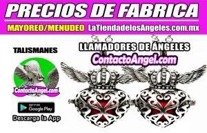 Llamadores de Ángeles - Corazón con Alas ROJO 1F- La Tienda de los Ángeles - Mayoreo CDMX copy