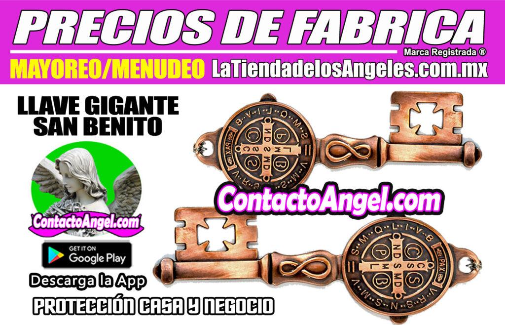 Llave Gigante San Benito- Protección Hogar y Negocio 1F- La Tienda de los Ángeles - Mayoreo CDMX copy