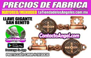 Llave Gigante San Benito- Protección Hogar y Negocio 1F- La Tienda de los Ángeles - Venta de Talismanes Mayoreo CDMX copy