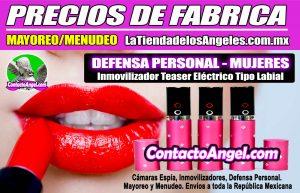 Stun Gun Paralizador Tipo Labial Descarga Eléctrica Defensa Personal 1F- La Tienda de los Ángeles - Mayoreo y Menudeo CDMX copy