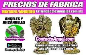FIGURA ABUNDIA DIOSA DE LA FORTUNA- Ángel de la Abundancia 2F- La Tienda de los Ángeles - Mayoreo y Menudeo CDMX