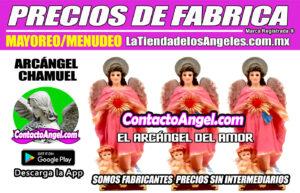 FIGURA ARCÁNGEL CHAMUEL 2F- El Arcángel del Amor - La Tienda de los Ángeles - Mayoreo y Menudeo CDMX