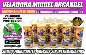 Veladora Arcángel Miguel Protección - Fábrica de Veladoras Esotéricas Mayoreo - LaTiendadelosAngeles A5-3