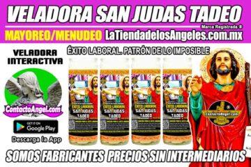Fábrica de Veladoras Esotéricas CDMX Mayoreo - Veladora San Judas Tadeo Éxito Laboral - Santo Patrón de las Causas Imposibles
