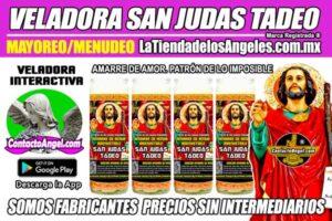 Fábrica de Veladoras Esotéricas CDMX Mayoreo - Veladora San Judas Tadeo Ritual Amarre de Amor Irresistible