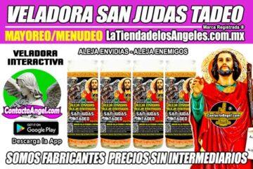 Fábrica de Veladoras Esotéricas CDMX Mayoreo - Veladora San Judas Tadeo Ritual Aleja Envidias Aleja Enemigos