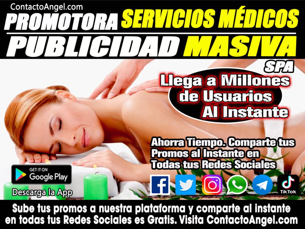 Promotora de Servicios Medicos y SPA CDMX -Anuncios Clasificados Gratis P1