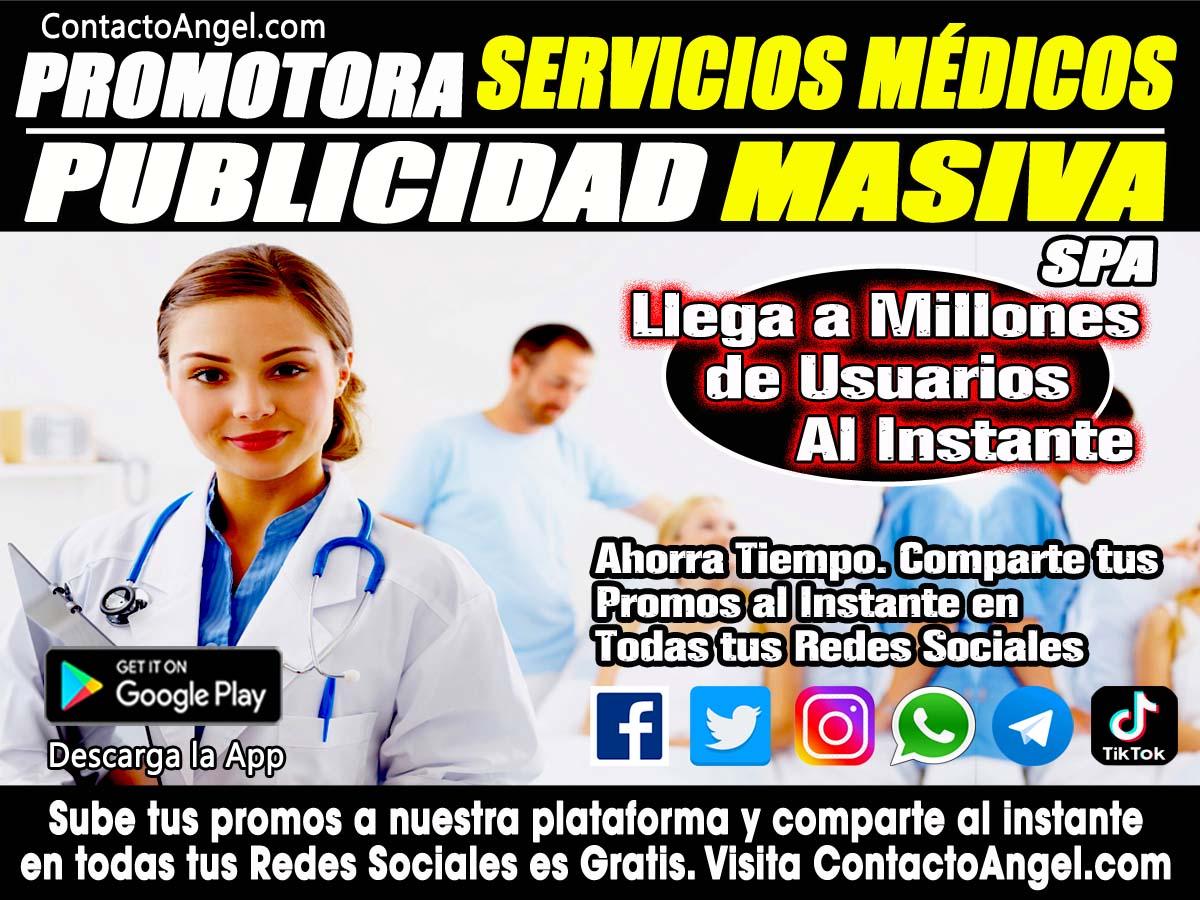 Promotora de Servicios Medicos y SPA CDMX -Anuncios Clasificados Gratis P2