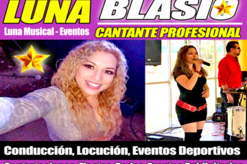Promotora de Espectaculos CDMX - Angels Music - Luna Blasio Cantante Profesional